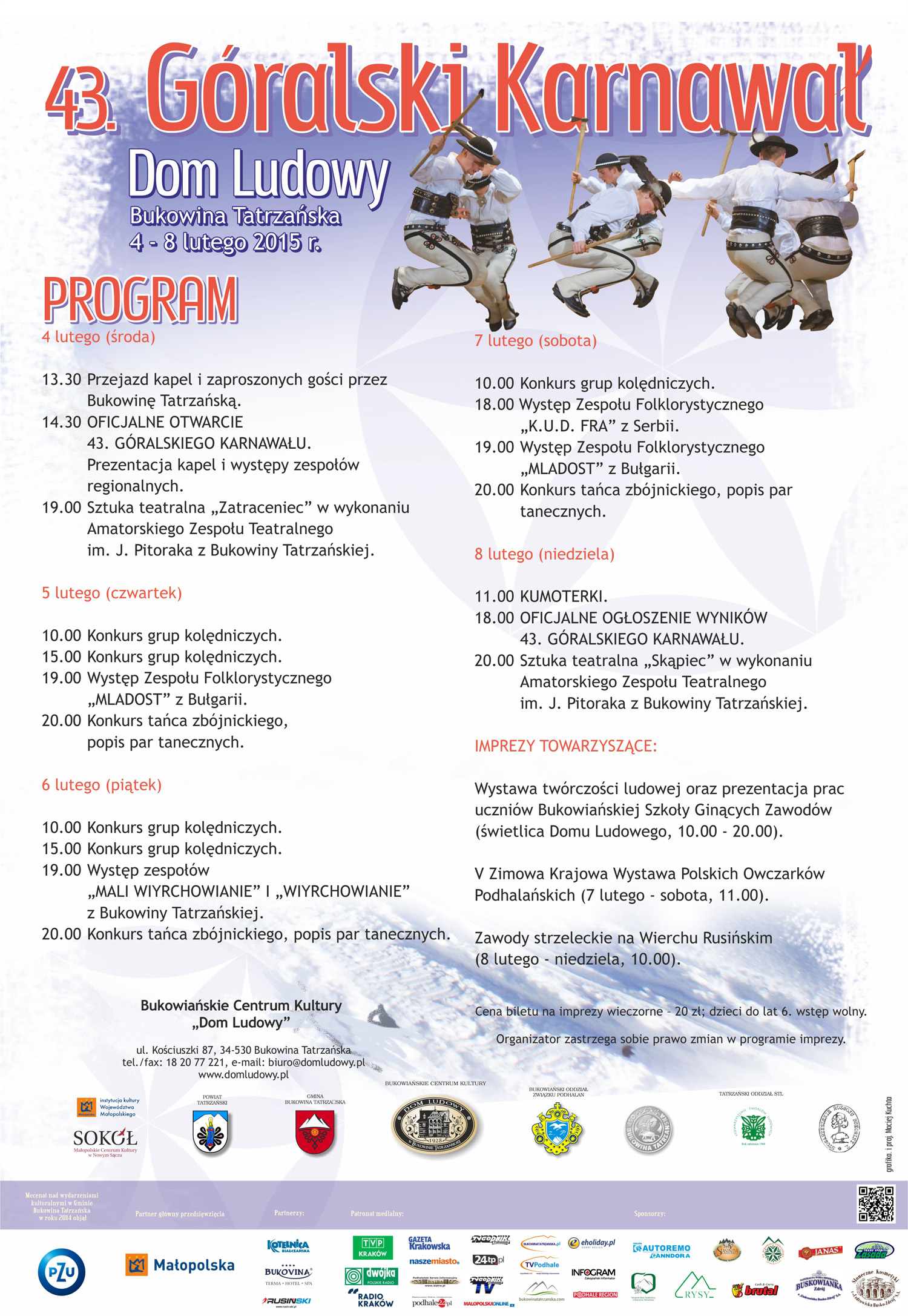 Karnawal 2015 program